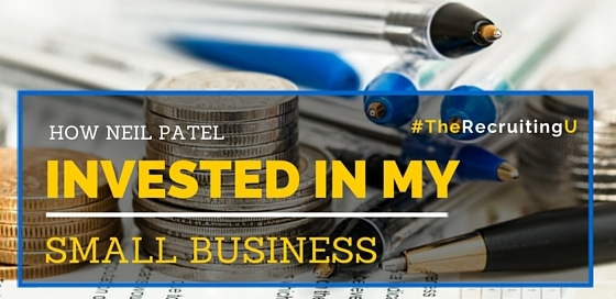 How Neil Patel Invested In My Business